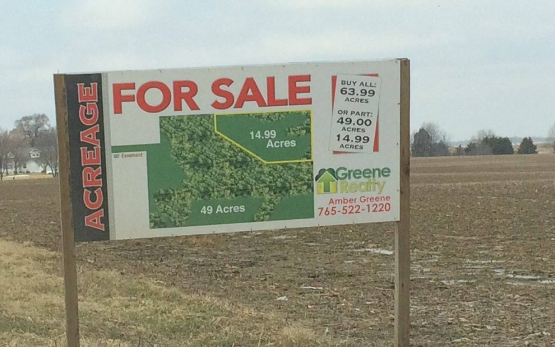 Farming dreams just went up on auction